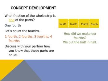 Engage NY Eureka Math 3rd Grade Module 5 Topics A & B Lessons 1-9   3.NF.A.1