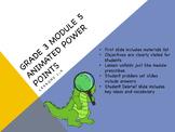 Engage NY Eureka Math 3rd Grade Module 5 Topics A & B Less
