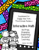 Engage NY 3rd Grade Math Module 6 Notebook: No Prep, Effic