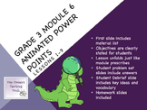 Engage NY 3rd Grade Math Module 6 Topics A & B Lessons 1-9  graphs