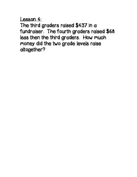 Engage NY 3rd Grade Math Module 7 Overview with Application Problems