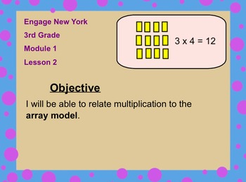Engage NY 3rd Grade Module 1 Lesson 2