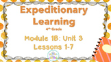 Engage NY 4th GRADE ELA  Module 1B: Unit 3 Lessons 1-8