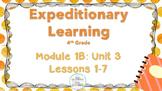 Engage NY 4th GRADE ELA  Module 1B: Unit 3 Lessons 1-8