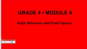 Engage NY 4th Grade Common Core Entire Math Module 4- Topics A - D
