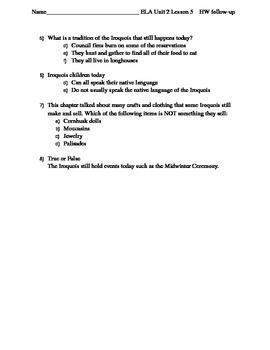 Engage NY 4th Grade - ELA Module 1 Unit 2 - Resource Bundle