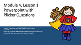 Engage NY 4th Grade Math Module 1 Topic A Lesson 1 ppt with Plicker questions