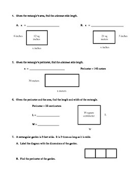Engage NY 4th Grade Math Module 3 Lessons 1-3
