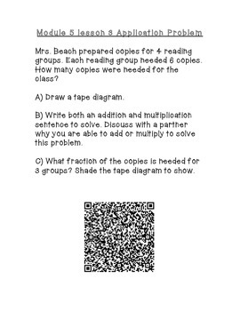 Engage NY 4th Grade Math Module 5 Topic A Application Problems