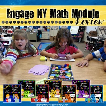 Engage NY 4th Grade Math Module Review Pack BUNDLE