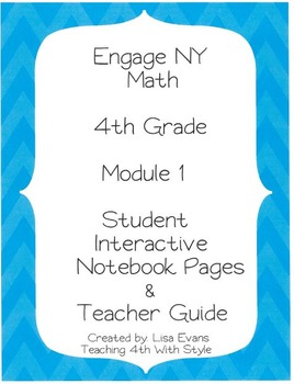 Engage NY 4th Grade Module 1 Interactive Student Notebook