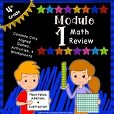 Engage NY 4th Grade Module 1 Review Pack - Place Value, Addition & Subtraction