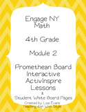 Engage NY 4th Grade Module 2 Interactive Whiteboard Lessons Plus Student Pages