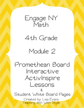Engage NY 4th Grade Module 2 Interactive Whiteboard Lesson