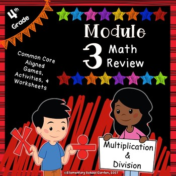 Engage Ny 4th Grade Module 3 Review Pack Multiplication Division