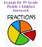 Engage NY 4th Grade Module 5 Adapted Homework