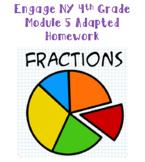 Engage NY 4th Grade Module 5 Adapted Homework