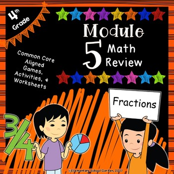 Engage Ny 4th Grade Module 5 Review Pack Fractions Tpt