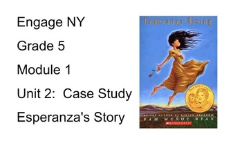 Engage NY Module 5.1 Unit 2 Lesson 1 Smart Board Slides