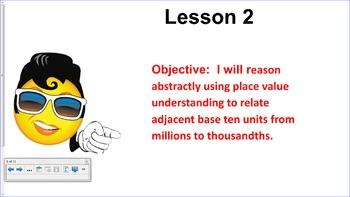 Engage NY 5th Grade Common Core Entire Math Module 1- Topics A - F