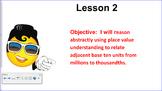 Engage NY (Eureka) 5th Grade Common Core Entire Math Module 1- Topics A - F