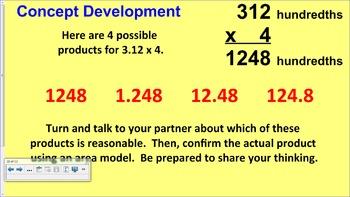 Engage NY 5th Grade Common Core Math Module 1-Topic E