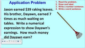 Engage NY 5th Grade Common Core Math Module 2-Topic B