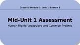 Engage NY - 5th Grade ELA - Module 1, Unit 1, Lesson 5