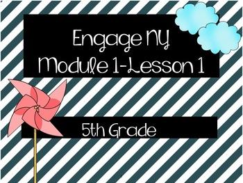 Engage NY 5th Grade English Language Arts Module 1 Unit 1 (All Lessons Bundled)
