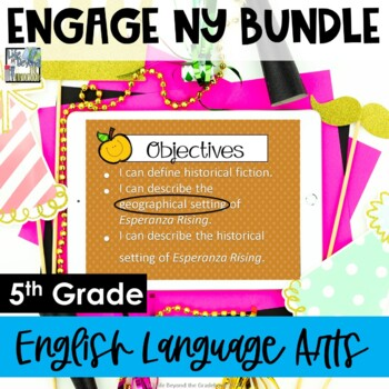 Engage NY 5th Grade English Language Arts Module 1 Unit 2 (All Lessons Bundled)