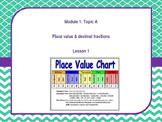 Engage NY 5th Grade Math Module 1 Topics A-F (16 Lessons)