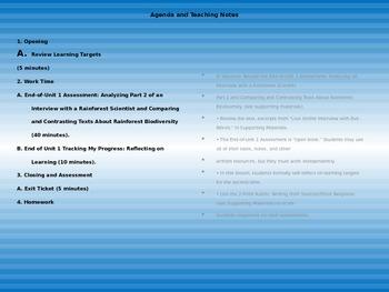 Engage NY 5th grade ELA Module 2A Unit 1 Lesson 9