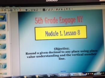 Engage NY 5th grade Module 1, Lesson 8 Smart Board Lesson