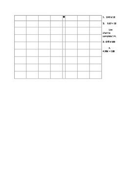 Engage NY 5th grade math module 1 Topic A quiz