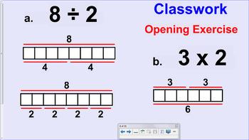 Engage NY (Eureka) 6th Grade Common Core Entire Math Module 4- Topics A - H
