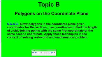 Engage NY (Eureka) 6th Grade Common Core Math Module 5-Topic B