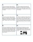 Engage NY 6th Grade Math Module 1 Task A Task Cards