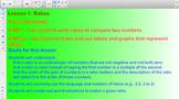 Engage NY Eureka Math 6th Grade Math Module 1 Lesson 1 for