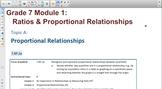 Engage NY Eureka Math 7th Grade Math Module 1 Topic A for