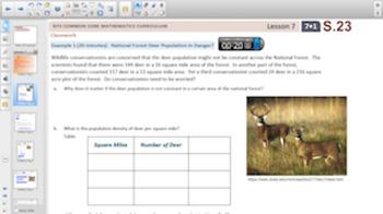 Engage NY Eureka Math 7th Grade Math Module 1 Topic B for Smartboards