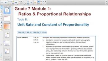 Engage NY Eureka Math 7th Grade Math Module 1 Topic B for