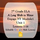 Engage NY 7th grade ELA Module 1 Unit 1 Google Slides