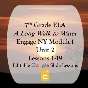 Engage NY 7th grade ELA Module 1 Unit 2 Google Slides