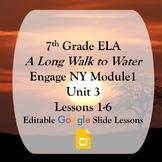 Engage NY 7th grade ELA Module 1 Unit 3 Google Slides
