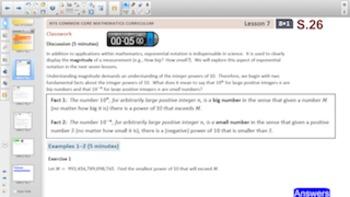 Engage NY Eureka Math 8th Grade Math Module 1 for Smartboards