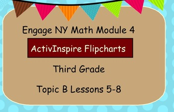 Engage NY ActivInspire  3rd Grade Module 4 Topic B