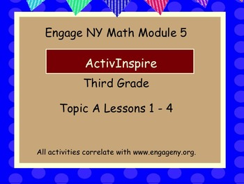 Engage NY ActivInspire  3rd Grade Module 5 Topic A