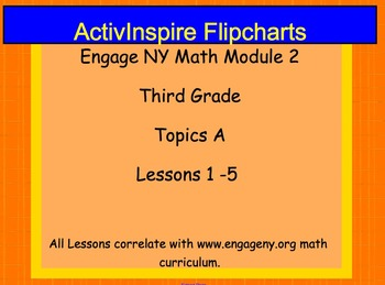 Engage NY ActivInspire Lesson 3rd Grade Math Module 2 Topic A