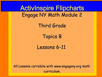 Engage NY ActivInspire Lesson 3rd Grade Module 2 Topic B