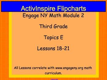 Engage NY ActivInspire Lesson 3rd Grade Module 2 Topic E